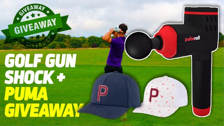 PULSEROLL GOLF GUN SHOCK, #1 driver of 2021 so far + PUMA giveaway!