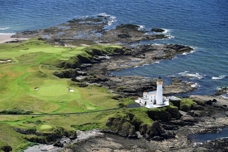 Turnberry Lighthouse shines bright at World Golf Awards