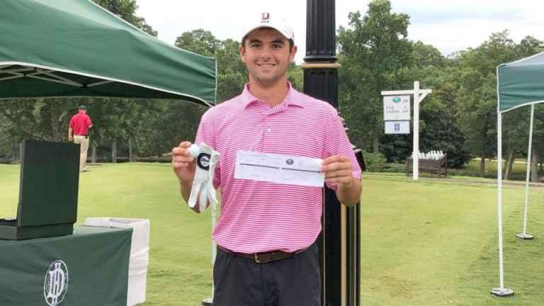 College golfer shoots 57