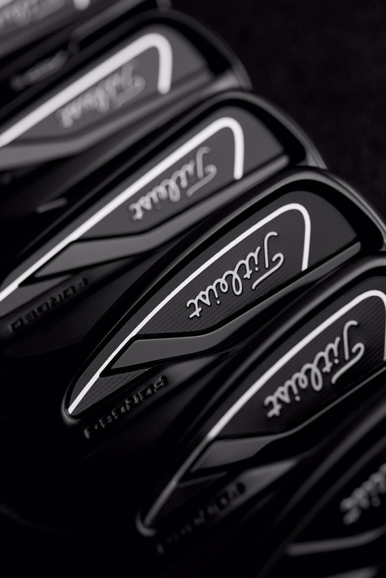 Titleist introduces 718 AP2 and AP3 irons in LIMITED BLACK finish