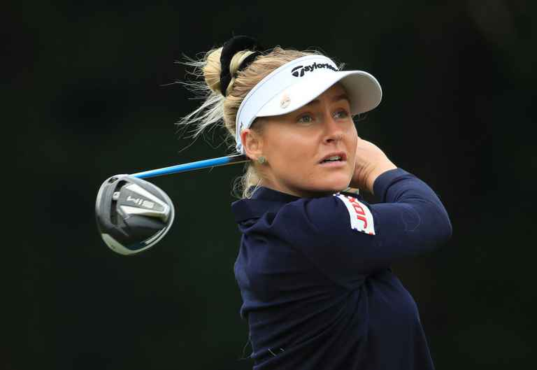 Charley Hull wins inaugural Rose Ladies Series tournament
