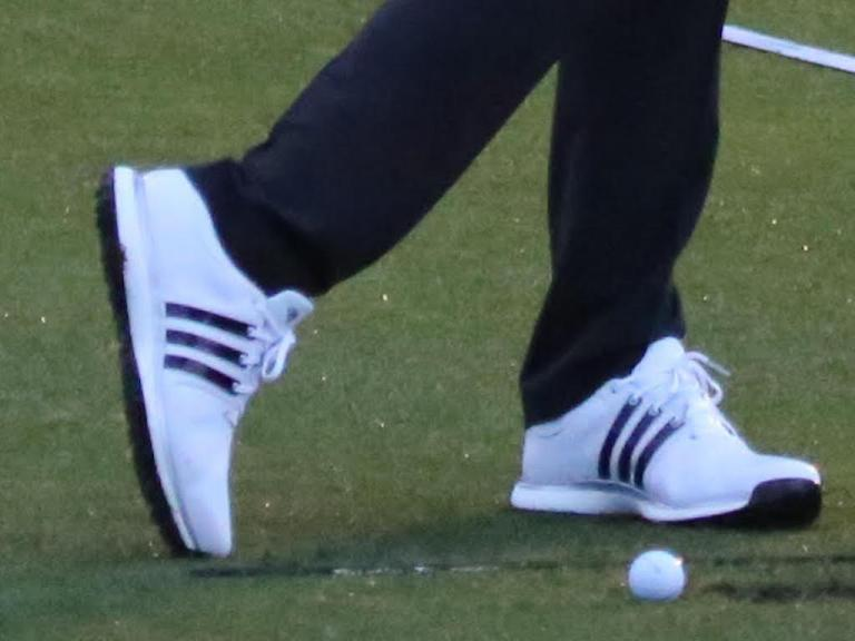 original highly praised official images Dustin Johnson spotted wearing never before seen adidas Golf ...