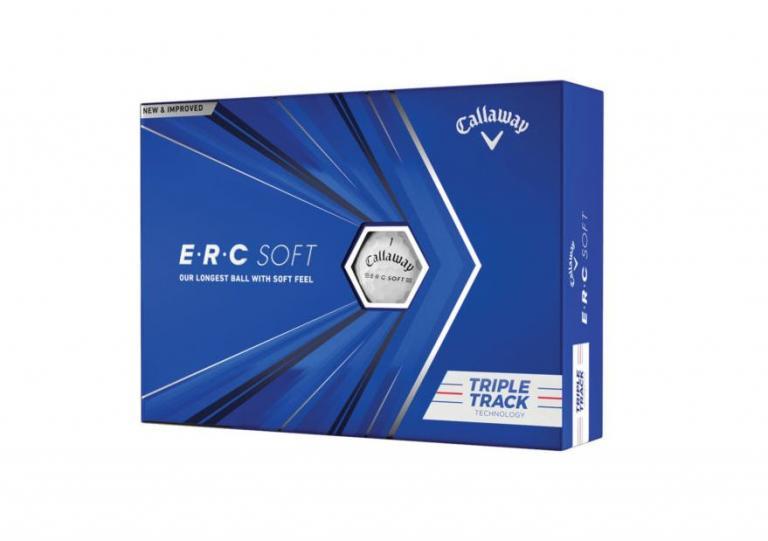 NEWS GOLF BALL! Callaway launches new ERC Soft ball for 2021