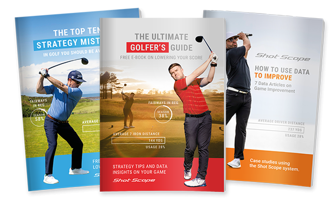 Improve your game at home with Shot Scope's FREE golf strategy guide
