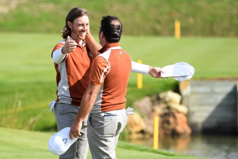 Tommy Fleetwood, Francesco Molinari Ryder Cup song