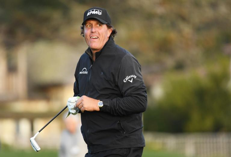 Phil Mickelson closes in on AT&T Pro-Am
