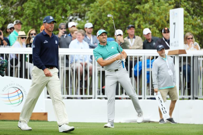 Sergio Garcia and Matt Kuchar in CONTROVERSIAL GIMME INCIDENT at WGC!