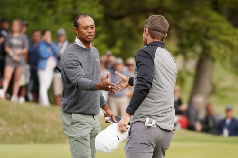 WATCH: Tiger Woods misses TIDDLER at 18 to lose WGC quarter final