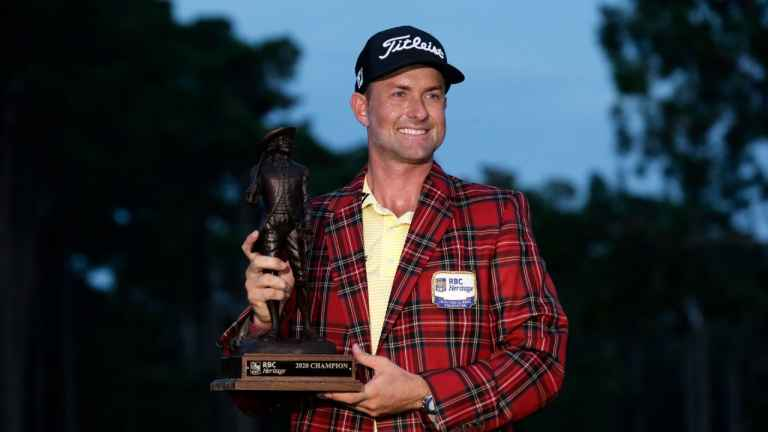 Webb Simpson's putter gets hot to win RBC Heritage