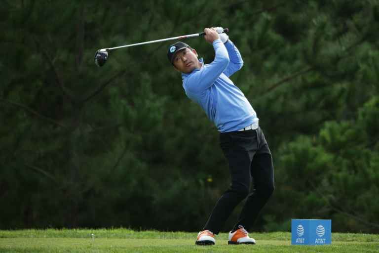 Twitter reacts as Hosung Choi HITS playing partner with his driver