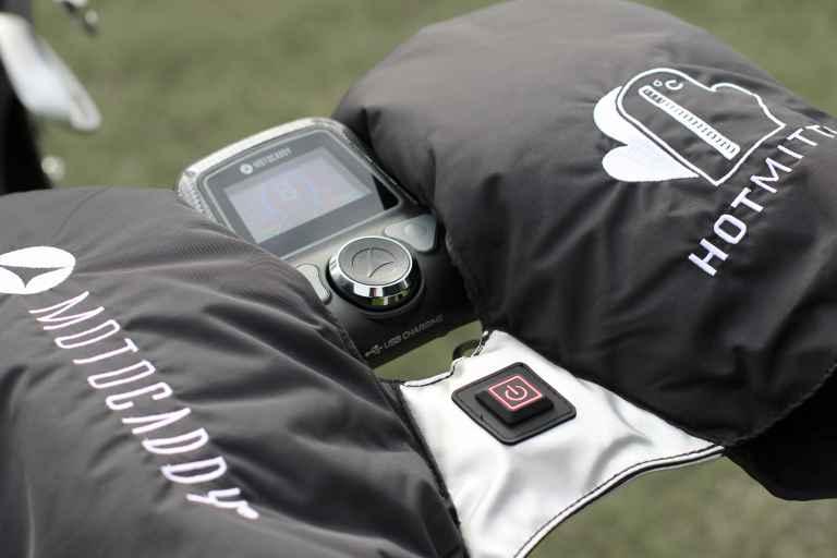 Motocaddy heats up winter golf