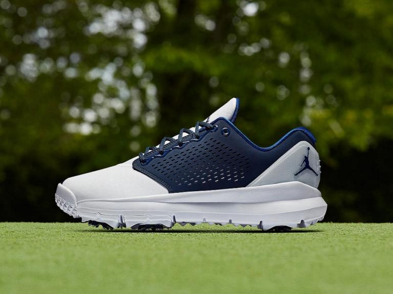 a5e66293fcd1ab Nike Golf adds Jordan Trainer ST G Blue to its 2019 golf shoe lineup ...