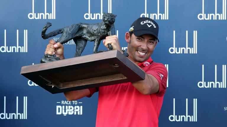 Pablo Larrazabal has EPIC STROP then goes on to win Alfred Dunhill