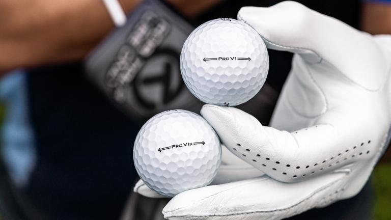 Next generation Titleist Pro V1 and Pro V1x golf balls debut on PGA Tour