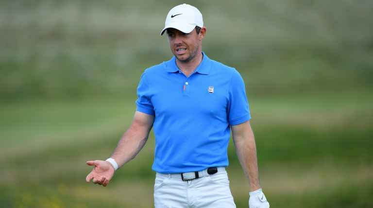 Rory McIlroy gets off to HORROR START at The Open