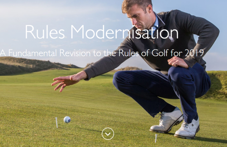 Golf's new Rules published by R&A and USA ahead of January 1, 2019