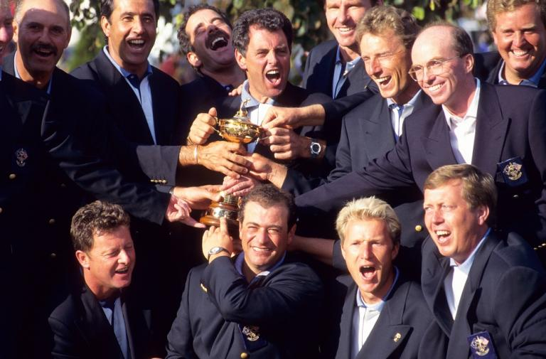 INTERVIEW: Bernard Gallacher and Sam Torrance reflect on Europe's 1995 Ryder Cup victory