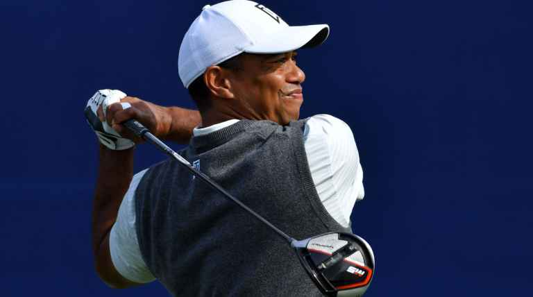 Tiger Woods' TaylorMade M5 driver is being tested at The Open