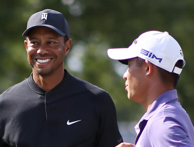 US Open Tee Times: Tiger Woods with Collin Morikawa and Justin Thomas