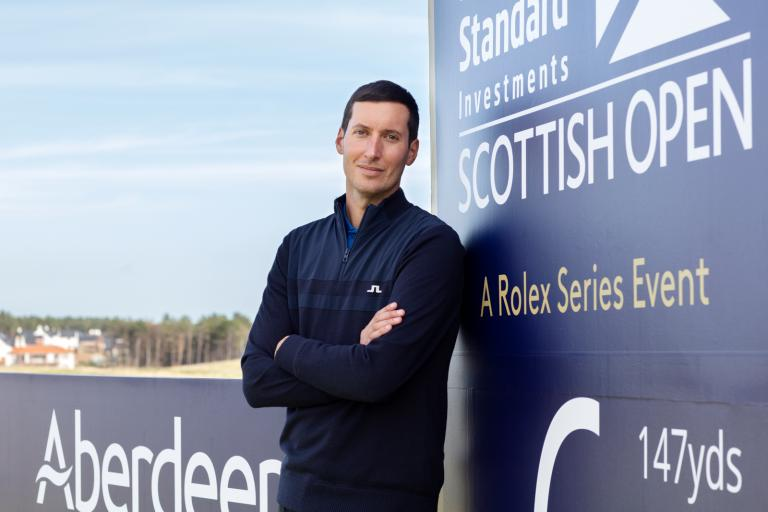 Grey Pocket boss talks Renaissance Club, Scottish Open and helping the NHS