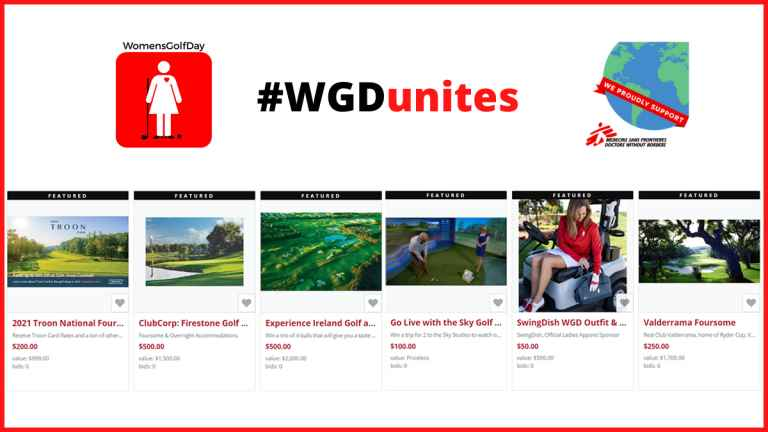 The Women's Golf Day Charity Auction is now LIVE