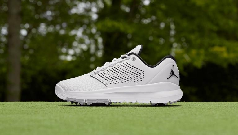 2b6e77639c82 Nike have released the Air Jordan Trainer ST G golf shoe in two new  colourways for 2018 - wolf grey and white - after an initial release in  2016.