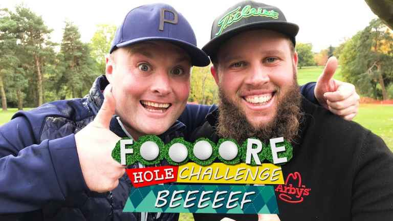 """Andrew 'Beef' Johnson tells Tubes: """"Anxiety tore my golf game apart"""""""