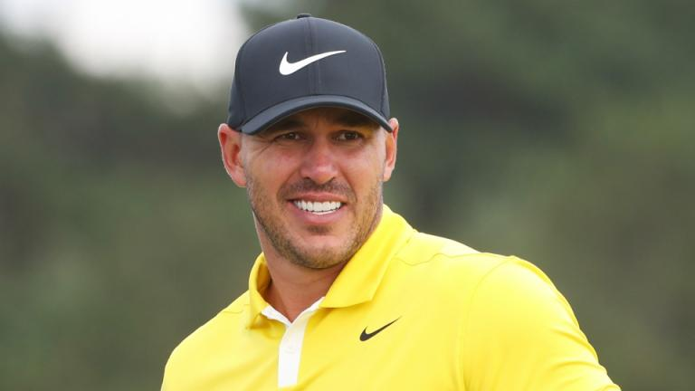 Brooks Koepka on the verge of signing for Srixon? This image suggests maybe...