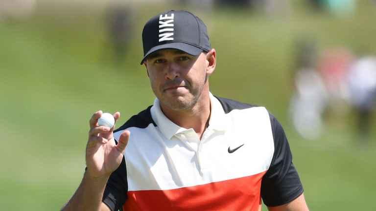 Brooks Koepka's new CACK-HANDED golf swing improves his ball striking