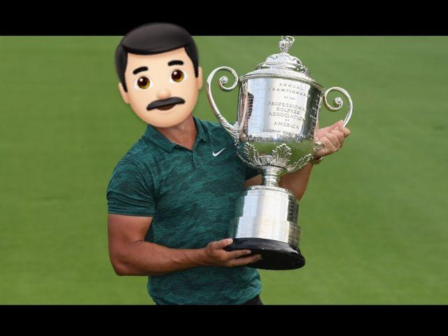 We've covered the faces of 21 world famous golfers! Can you name them?