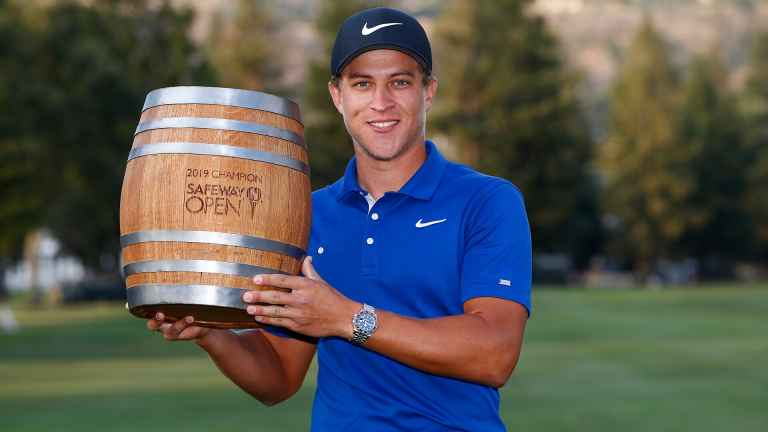Cameron Champ wins the Safeway Open - what's in the bag?