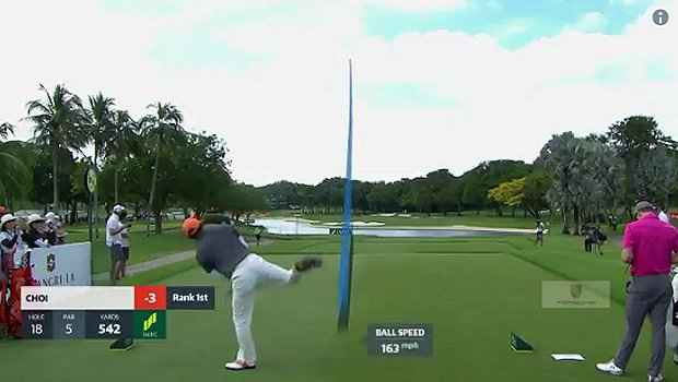 Hosung Choi - the man with the craziest swing - wins again in Japan!
