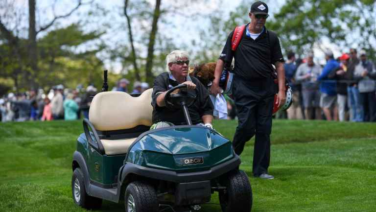 John Daly FUMING with R&A after refusing him a golf cart at The Open