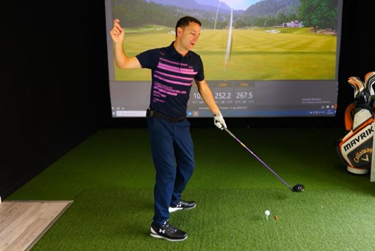 How this simple drill can add CRAZY distance to your driver