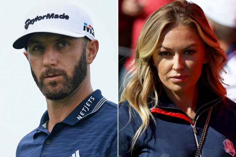 Paulina Gretzky reveals what Dustin Johnson did on the stairs at 2018 Masters...