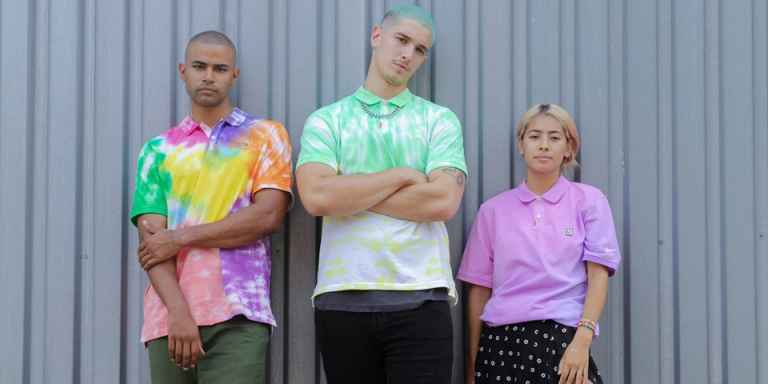 Nike is dropping limited-edition HAND-DYED golf polo shirts