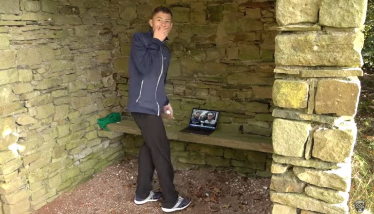 WATCH: Eddie Pepperell surprises young golfer with custom Mizuno irons