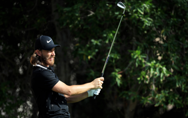 Tommy Fleetwood snapped with TaylorMade irons