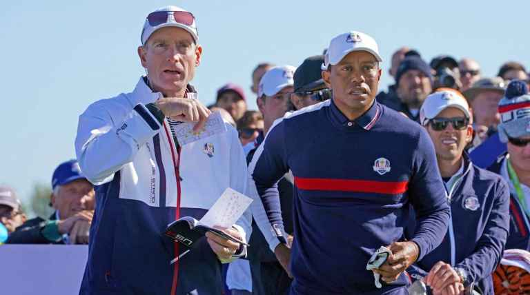 "Tiger Woods ""was drained"" at Ryder Cup, admits captain Jim Furyk"