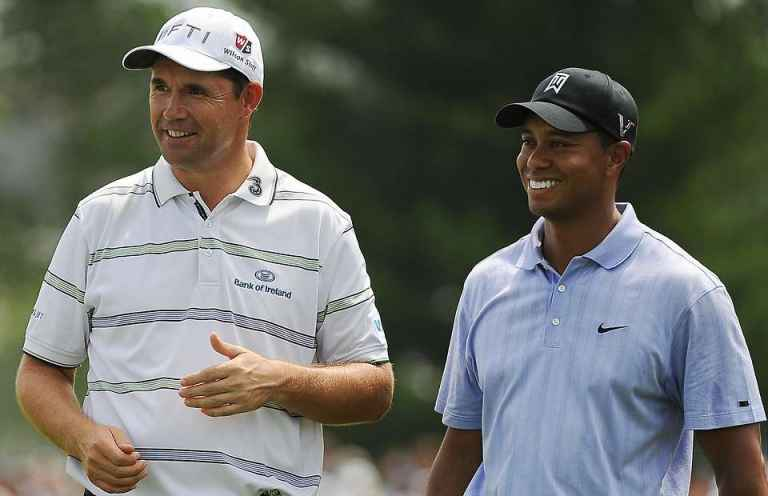Padraig Harrington questions whether Tiger Woods is serious about Open Championship win