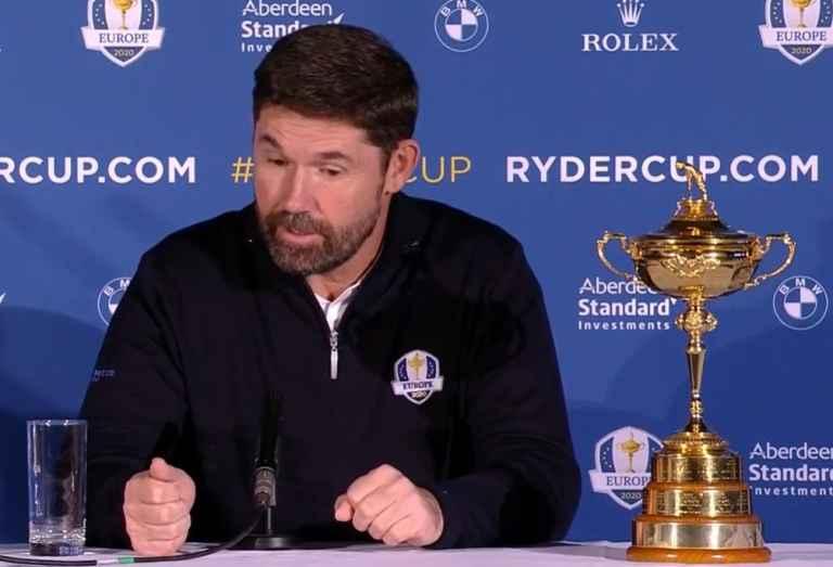 Padraig Harrington confident Ryder Cup WILL go ahead