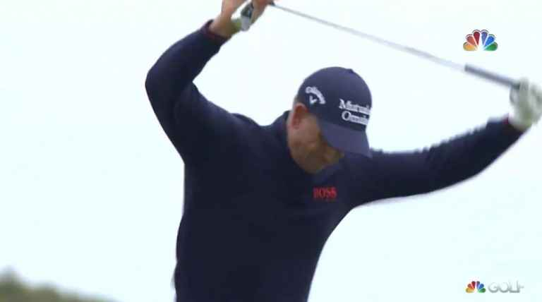 WATCH: Henrik Stenson shanks golf shot at The Open, then snaps club