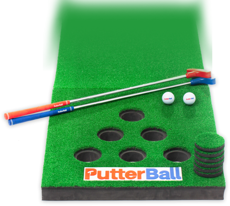 PutterBall: the golf version of beer pong for your weekend