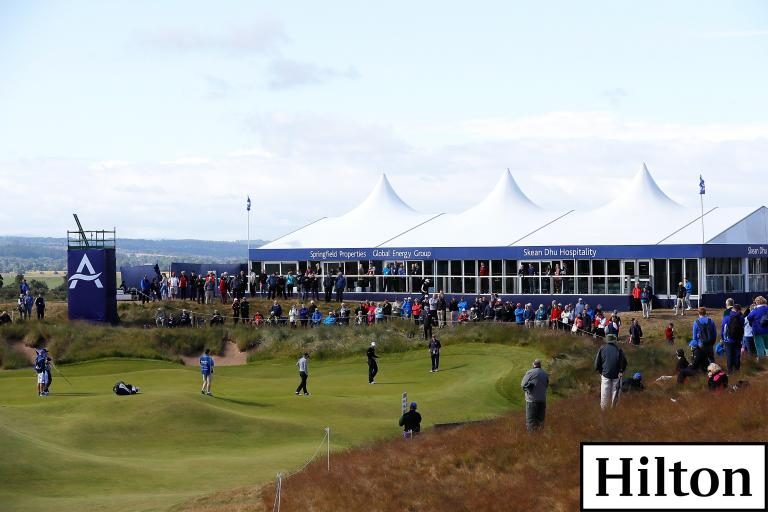 WIN! Play alongside a European Tour pro at Scottish Open with Hilton