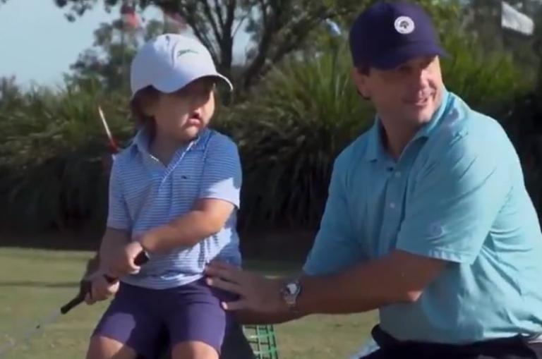 PGA Tour make dreams come true for golf loving 3-year-old battling cancer