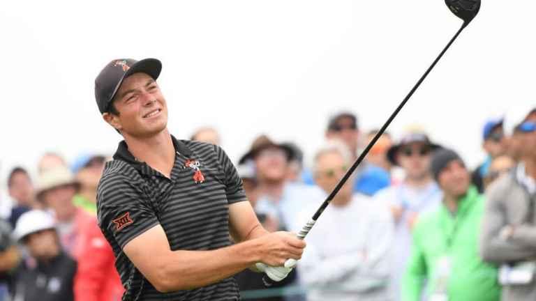 Viktor Hovland sets new amateur US Open record