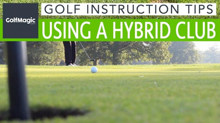 Best golf tips: How to use a golf hybrid around the greens