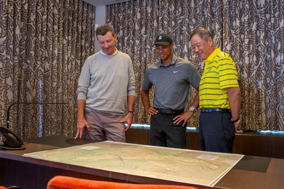 Tiger Woods reveals designs for Hawaiian masterpiece