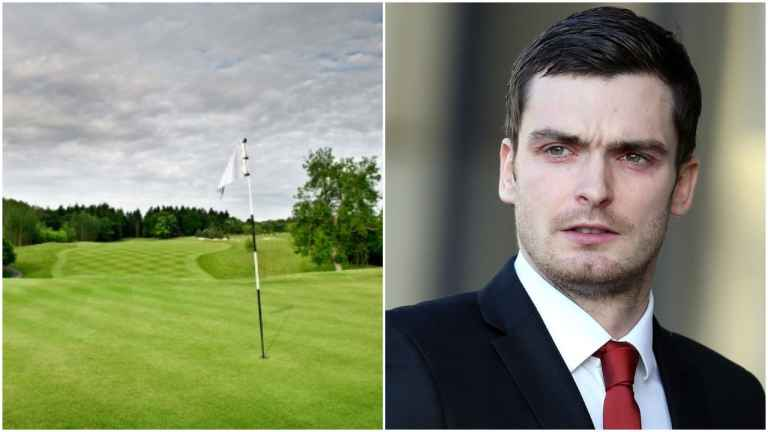 members are outraged as Adam Johnson joins golf club