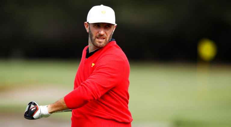 Dustin Johnson not concerned about his knee